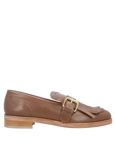 Boutique Moschino Loafers In Brown
