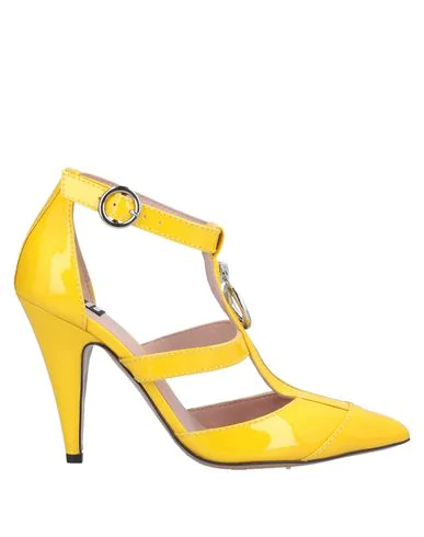 Boutique Moschino Pump In Yellow