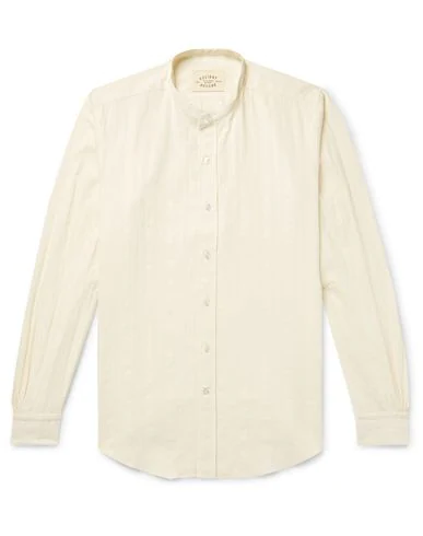 Holiday Boileau Solid Color Shirt In Ivory