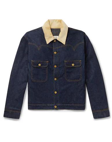 Holiday Boileau Denim Jacket In Blue