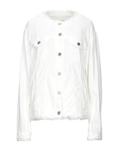 Jeckerson Denim Jacket In White