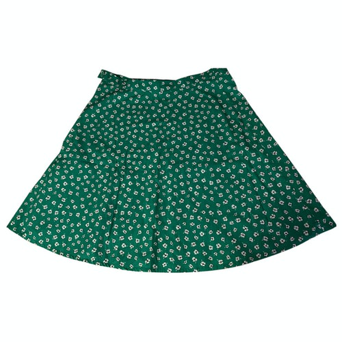 Claudie Pierlot Green Cotton Skirt