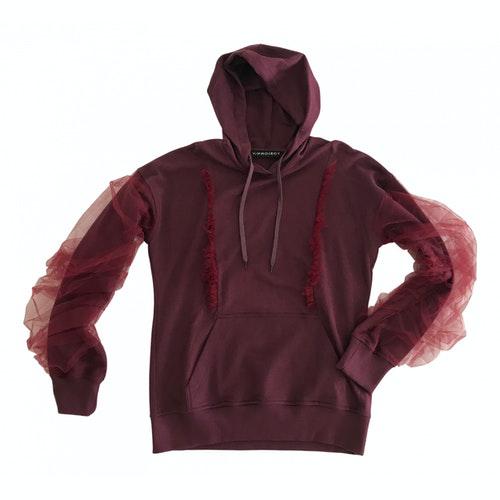 Y/project Burgundy Cotton Knitwear