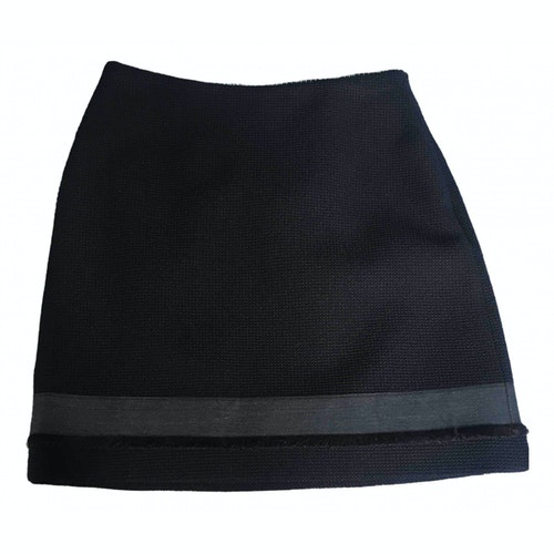 Claudie Pierlot Spring Summer 2019 Blue Cotton Skirt
