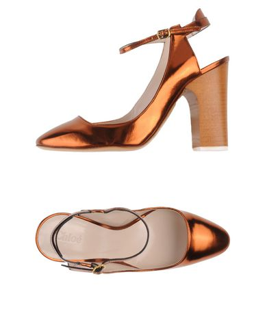 ChloÉ Pump In Copper