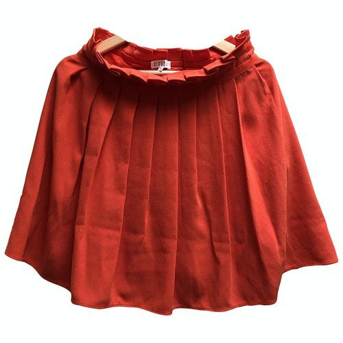Claudie Pierlot Red Skirt