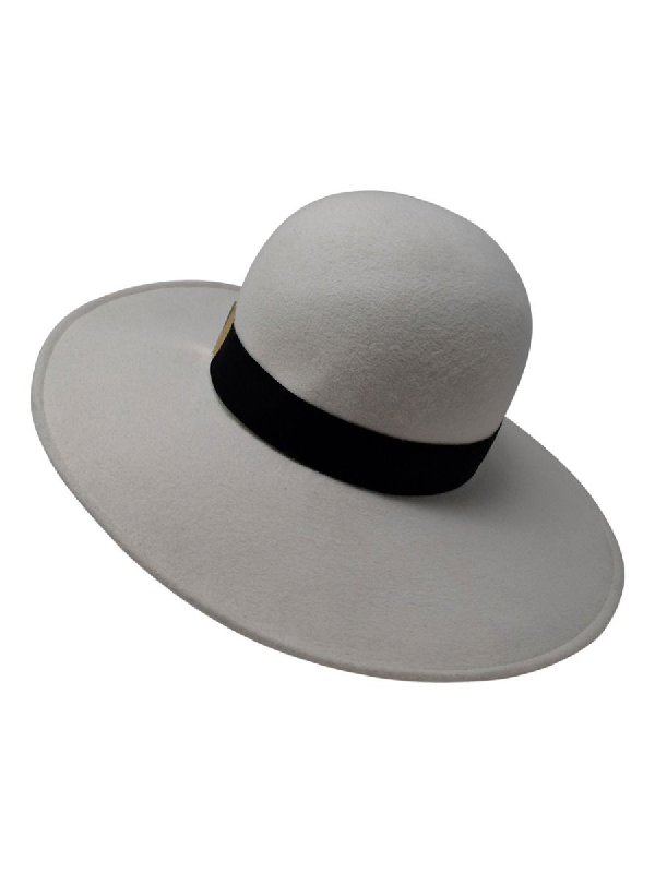 Gigi Burris Millinery Kyleigh Wide Brim Hat In Grey