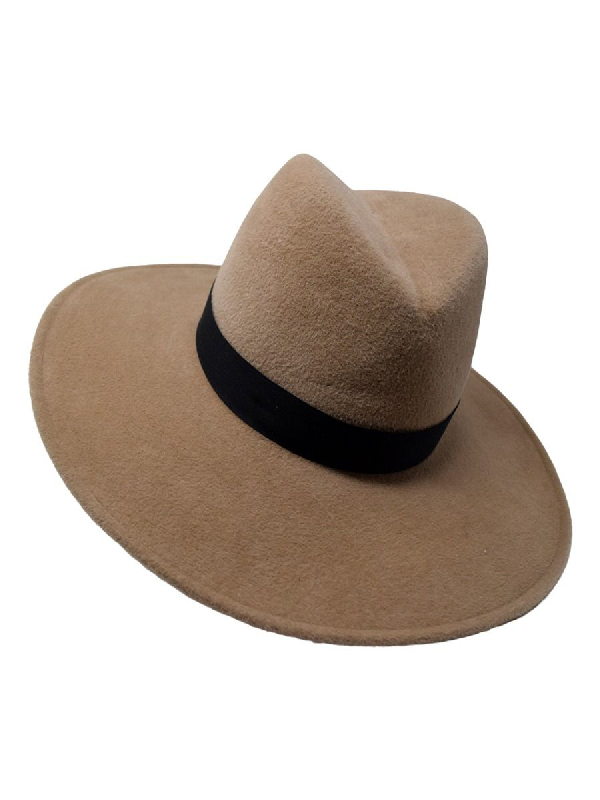 Gigi Burris Millinery Jeanne Fedora Hat Chestnut In Brown