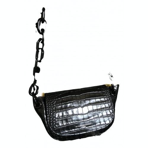 Simon Miller Black Patent Leather Handbag