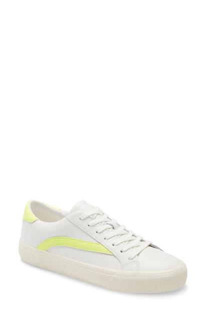 Madewell Sidewalk Low Top Sneaker In Sunfaded Mint Multi