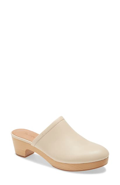 Madewell Ruby Clog In Ashen Silver