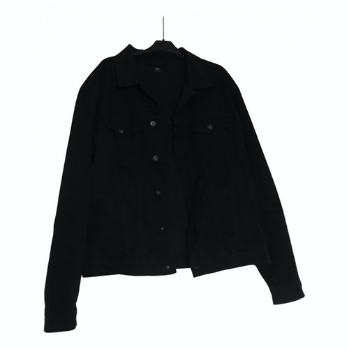 Edwin Black Cotton Jacket