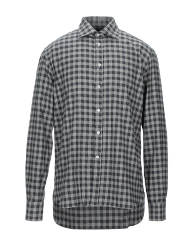 Brió Checked Shirt In Gray