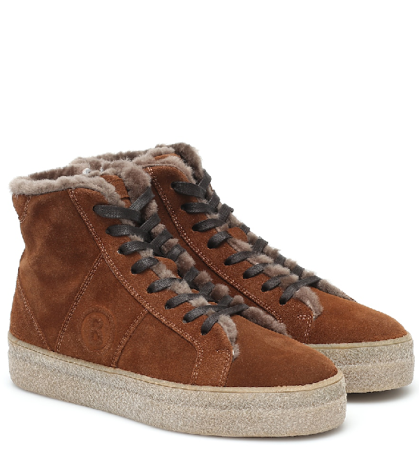 Bogner Denver Suede Sneakers In Brown