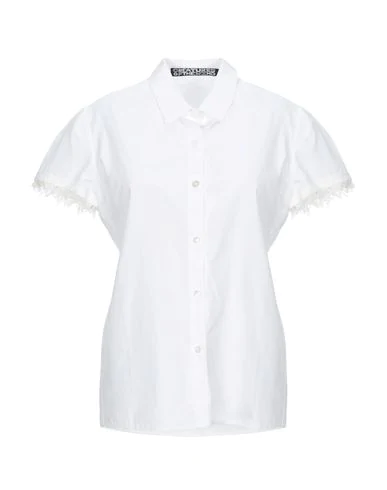 Creatures Of The Wind Solid Color Shirts & Blouses In White