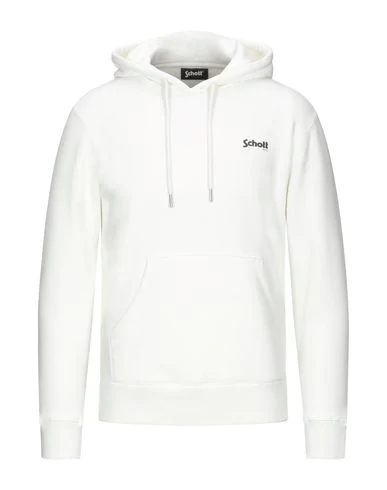 Schott Sweatshirt In White