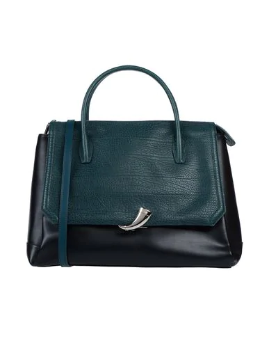 Cavalli Class Handbag In Green