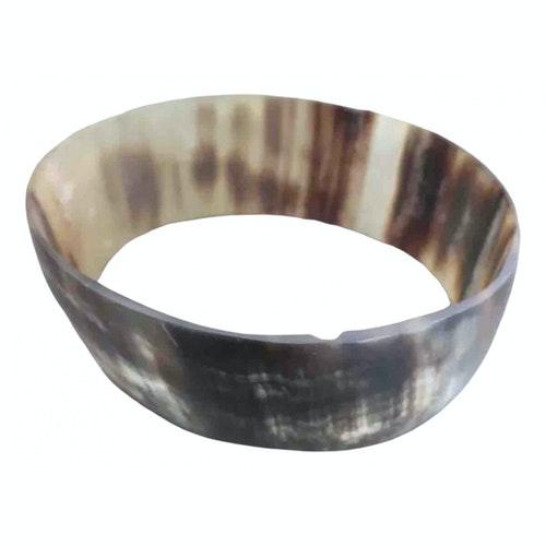 Monies Khaki Horn Bracelet