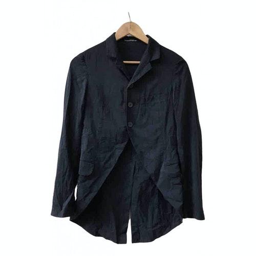 Y's Black Silk Jacket