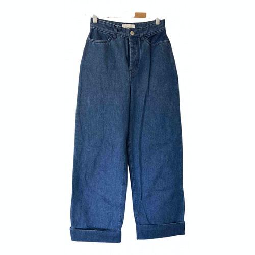 Kowtow Blue Cotton Jeans