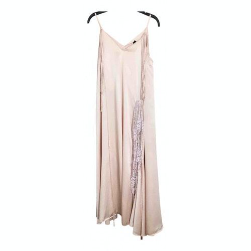 Y/project Pink Silk Dress