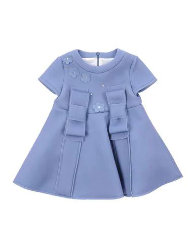 Romeo Gigli Dress In Pastel Blue