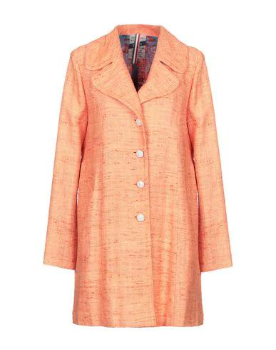 History Repeats Full-length Jacket In Orange