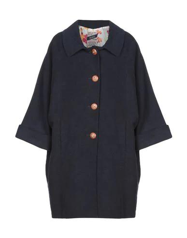 History Repeats Full-length Jacket In Dark Blue