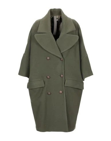 History Repeats Coat In Military Green