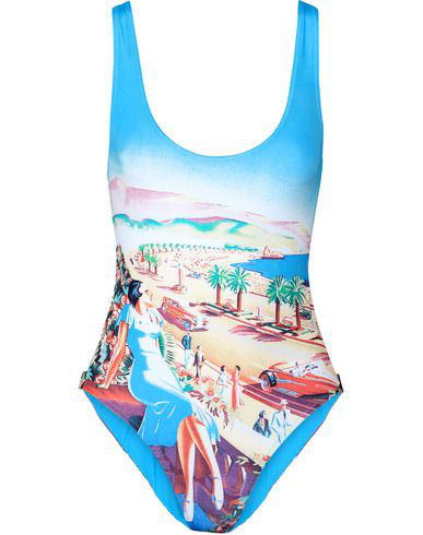 Orlebar Brown One-piece Swimsuits In Azure