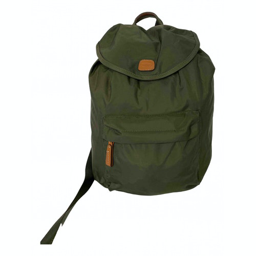 Bric's Green Cloth Backpack