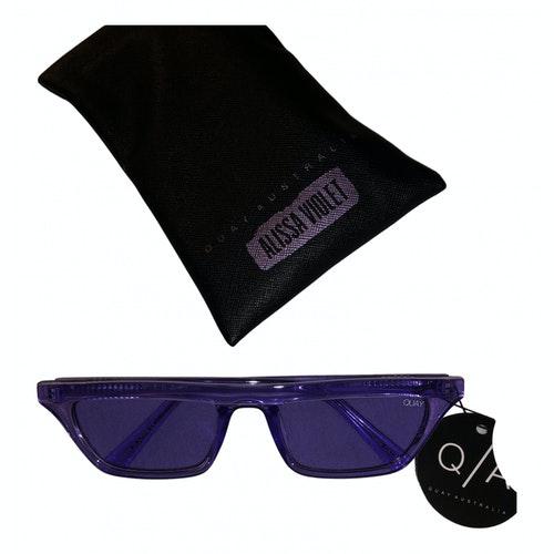 Quay Purple Sunglasses