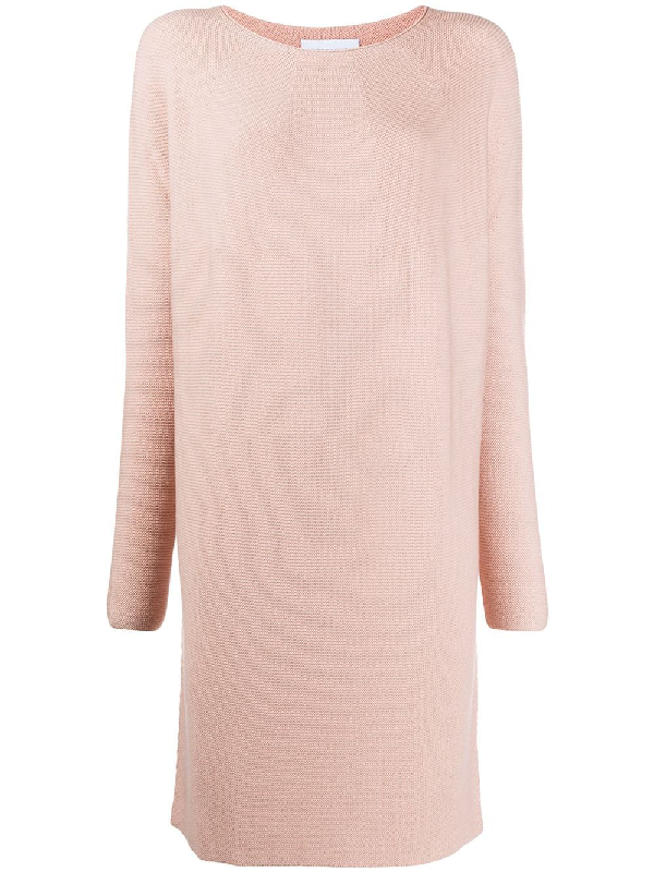 Christian Wijnants Sweater Dress In Pink