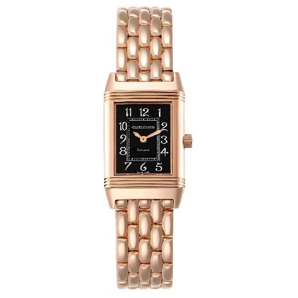 Jaeger-lecoultre Reverso Rose Gold Ladies Watch 260.2.86 Box Papers In Multi