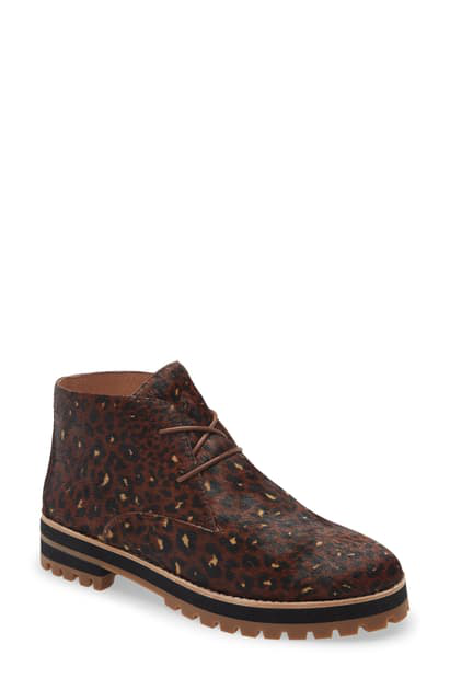 Madewell The Wren Boot In Rich Brown Multi