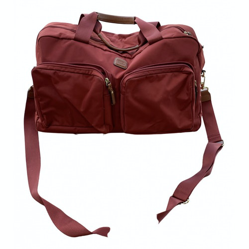 Bric's Red Travel Bag