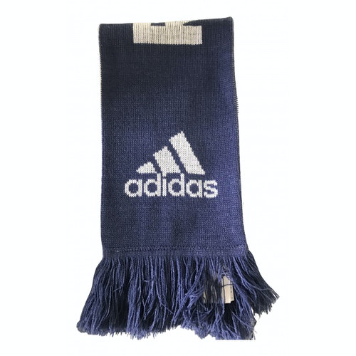 Adidas Originals Blue Cotton Scarf & Pocket Squares