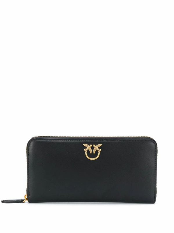 Pinko Ryder Wallet Zip Around In Black