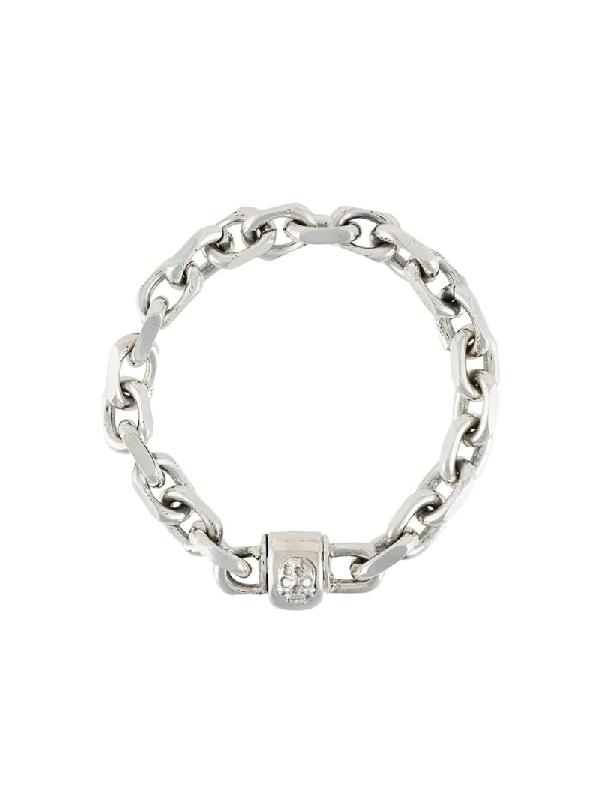 Emanuele Bicocchi Chunky Chain-link Bracelet In Metallic