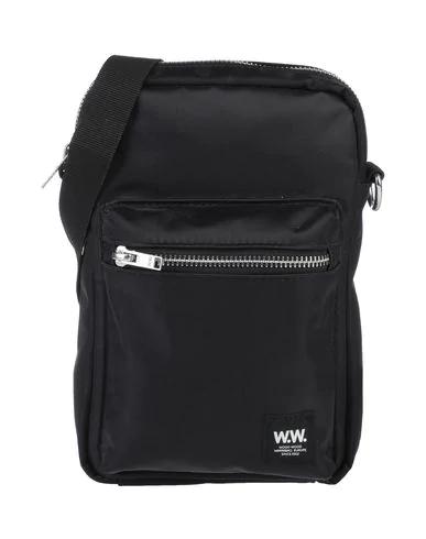 Wood Wood Cross-body Bags In Black