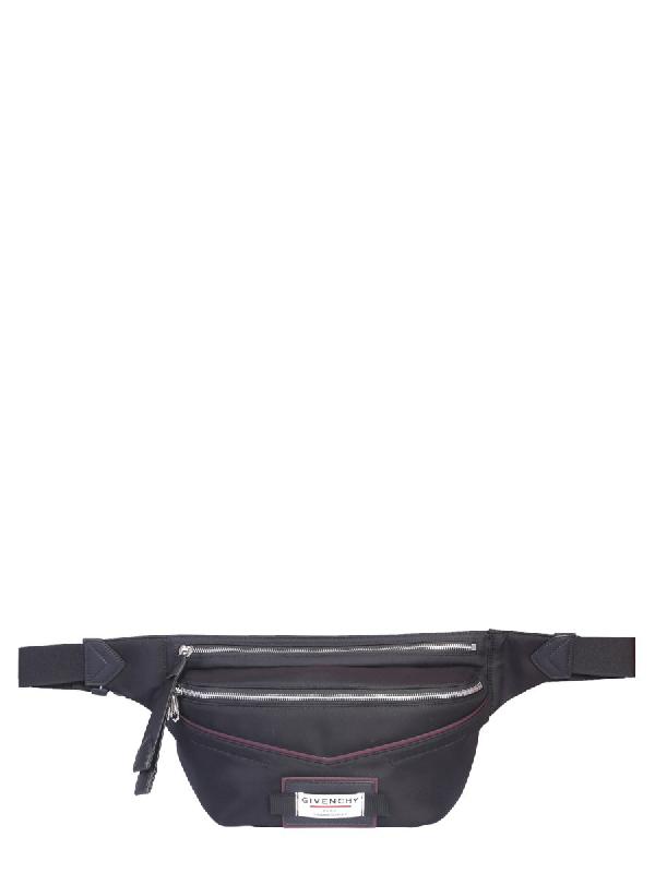 Givenchy Downtown Black Nylon Belt Bag