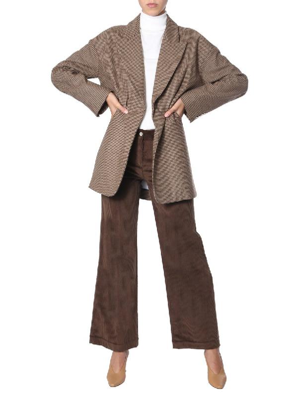 Jejia Oversize Fit Jacket In Multicolour