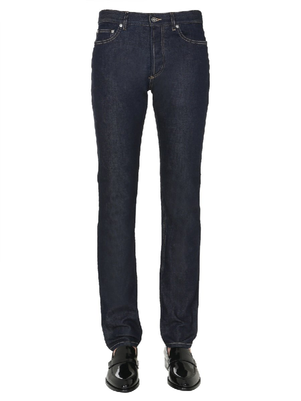 Givenchy Slim Fit Jeans In Blue