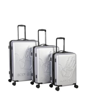 Body Glove Redondo 3 Piece Hardside Luggage Set In White