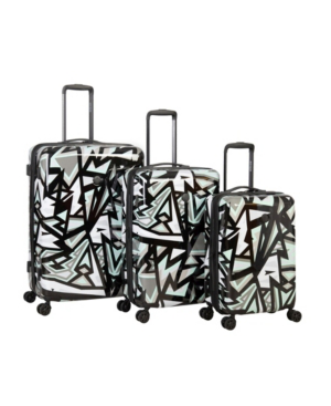 Body Glove Inner City 3 Piece Hardside Spinner Luggage Set In Gray