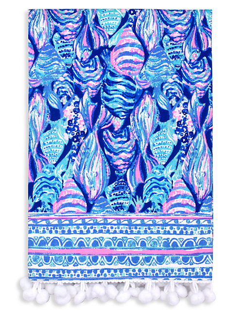 Lilly Pulitzer Scale Up 2-piece Cotton Dinner Napkin Set In Pink Blue