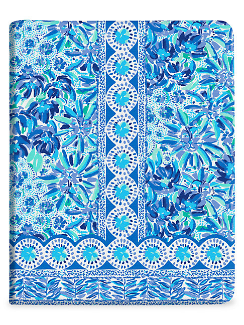 Lilly Pulitzer High Manet Concealed Spiral Journal In Blue