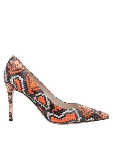 Deimille Pump In Orange