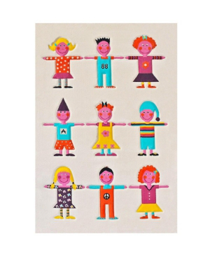 "Ivi Kids Multi-color Soft Nursery Rug - 59""l X 39""w In Cream"