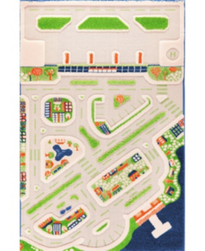 Ivi Mini City 3d Play Rug In Multi